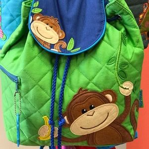 Stephen Joseph Monkey Backpack